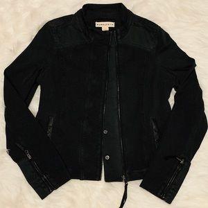 Nwot black motorcycle style jacket